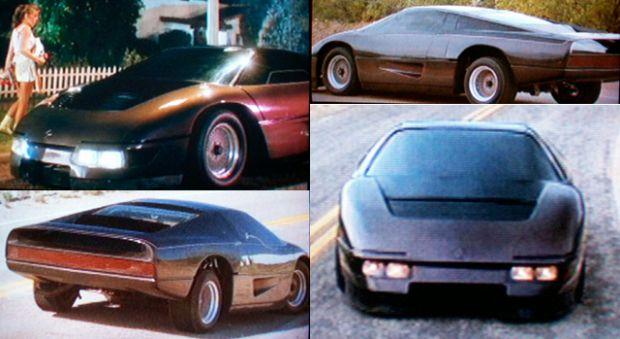 The Wraith Car: Dodge M4S/The Turbo Interceptor/The Wraith Movie Image