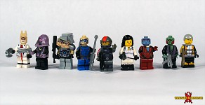 LEGO Mass Effect 2 Characters