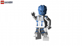 LEGO Mass Effect - Liara T'Soni (LotSB/ME3)