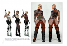 Mass Effect 2: Jack Concept Art