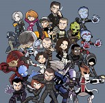 Characters of the Mass Effect Universe