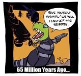 65 MIllion years ago...