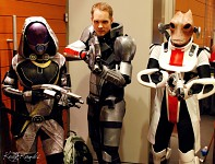 Mordin Solus Cosplay on PAX East 2011