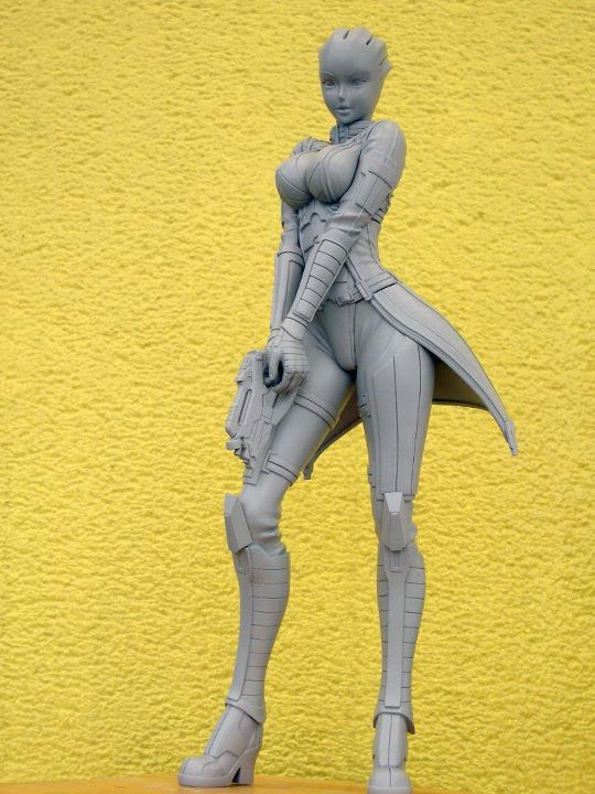 Kotobukiya's Bushoujo Liara Statue