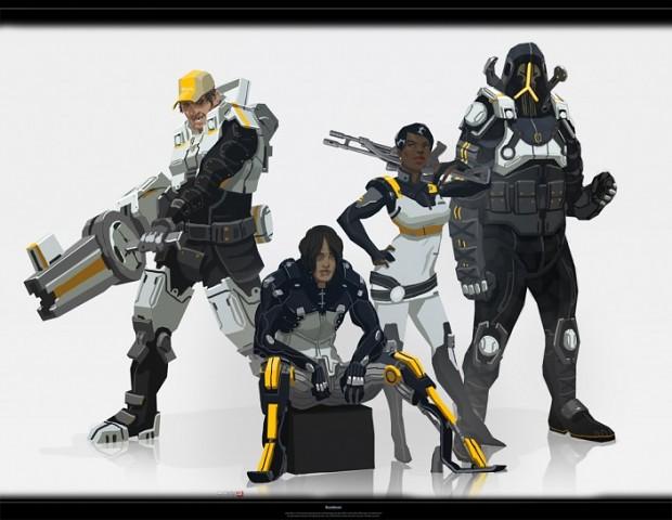 Anti-Shep Cerberus Squad Concept Art