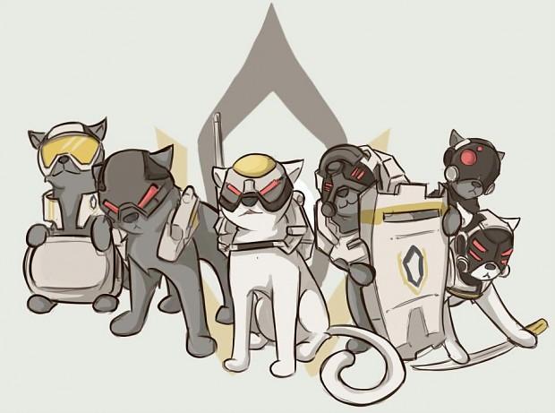 Cerberus Kitties