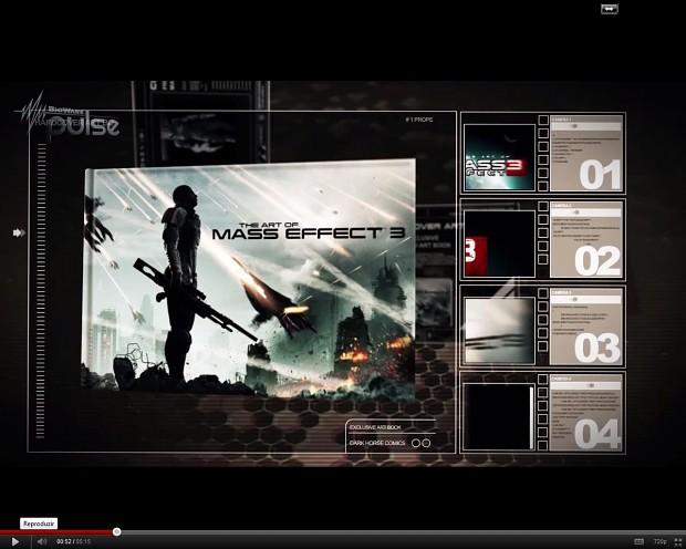 Some screenshots from BioWare Pulse - ME3 Artbook