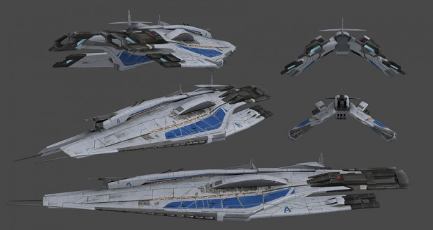 Alliance Frigate concept