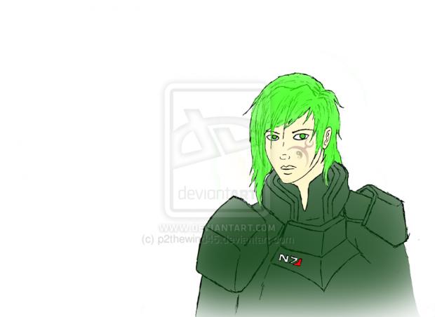 My Shepard. WIP