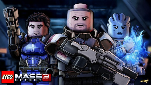 Lego Hypothetical: Mass Effect