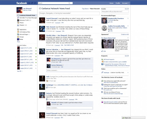 Facebook as seen in year 2185