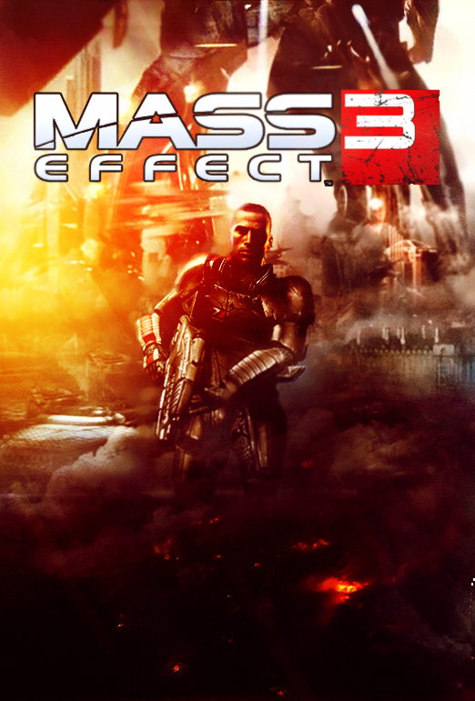 Mass Effect 3 - DVD Cover
