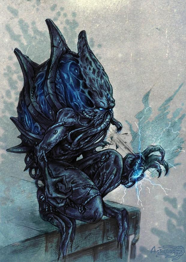 Mass Effect 3 Protean-Husk
