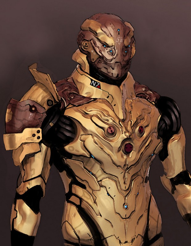 Drell Assault Armor
