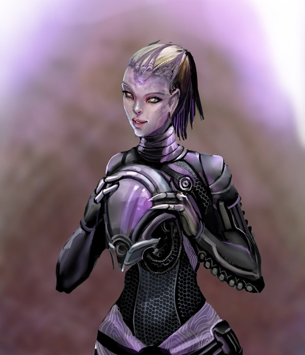 Tali Without Helmet image - Mass Effect Fan Group - Mod DB  Tali Without He...