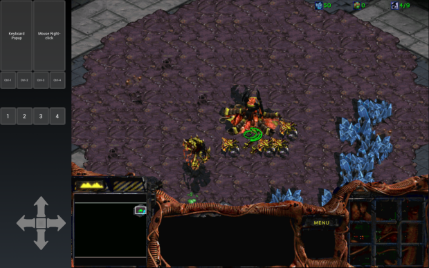 Starcraft on android via Winulator (Beta)