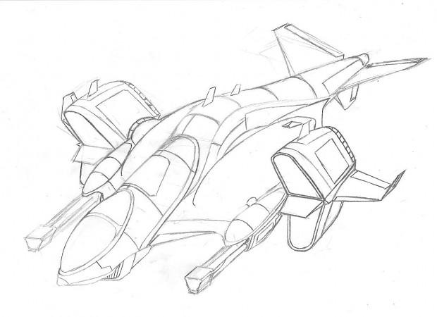 Concept Gunship