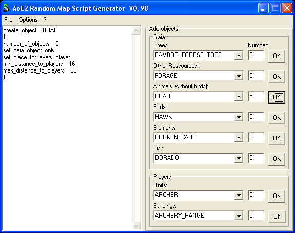 Random Map Script Generator by [soz]Exekutor