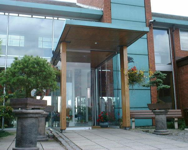 HQ Main Entrance