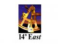14° East