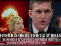GEN. Flynn weighs in on Idiot Hillary Giving out US Nuclear Launch times