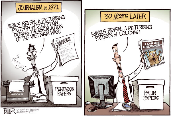 Palin papers cartoon