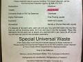 Hazardous materials, dead bodies, chemicals. etc..