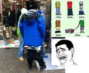evolution of pants