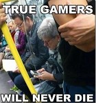 All you gamers, stand up and Salute!