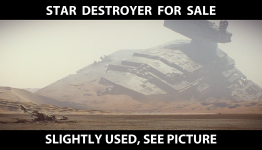 Star Destroyer for sale