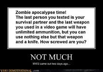Zombie apocalypse...