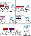 international politics meme