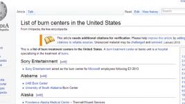 Burn Centers