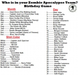 Your Zombie Slaying Team