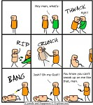 C&H:sneak up
