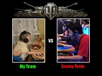 Normal World of Tanks Team