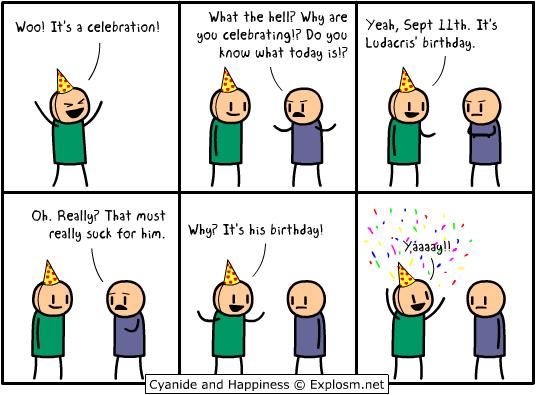 Happy Birthday Image Humor Satire Parody Mod Db