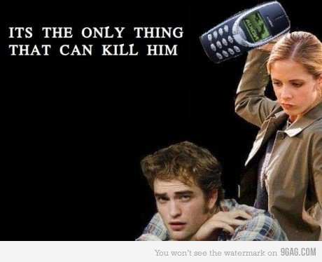 Buffy+Nokia 3310
