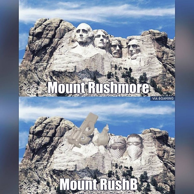 Mount Rush B Image Humor Satire Parody Mod Db