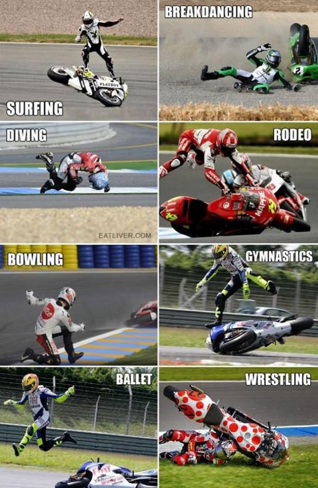 MotoGP is actually a multi-sport event.