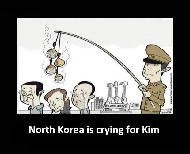 North Korea Is Crying For Kim Image Humor Satire Parody Mod Db