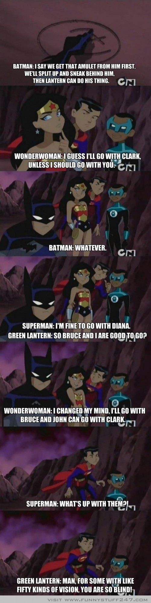 Superman Burn