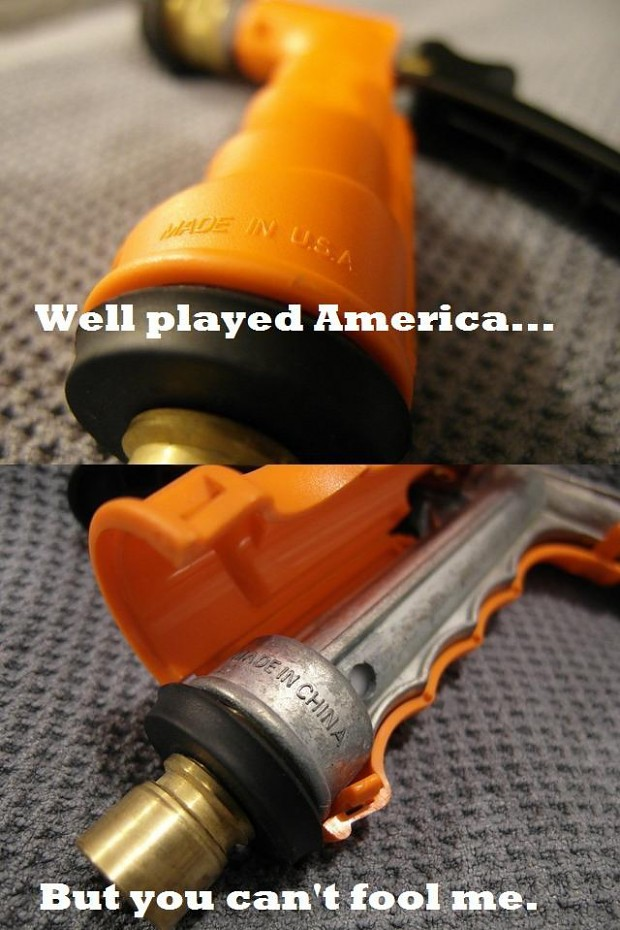 Made in USA you say...