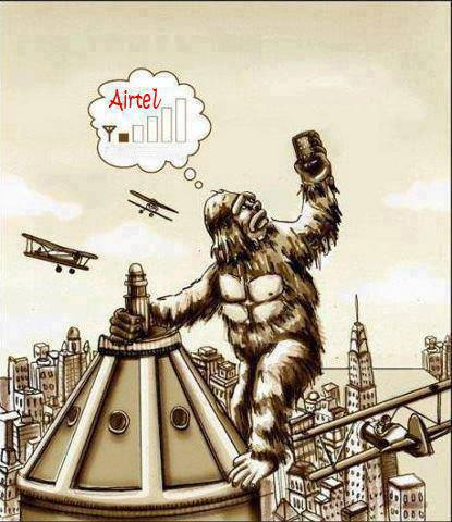 King Kong in 21st century.