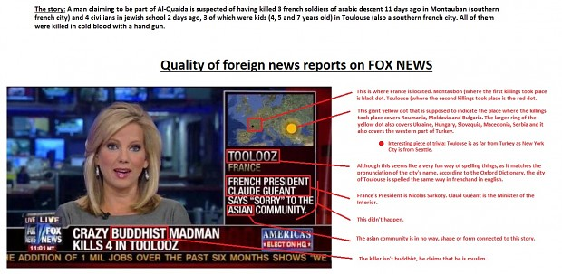 Fox news...