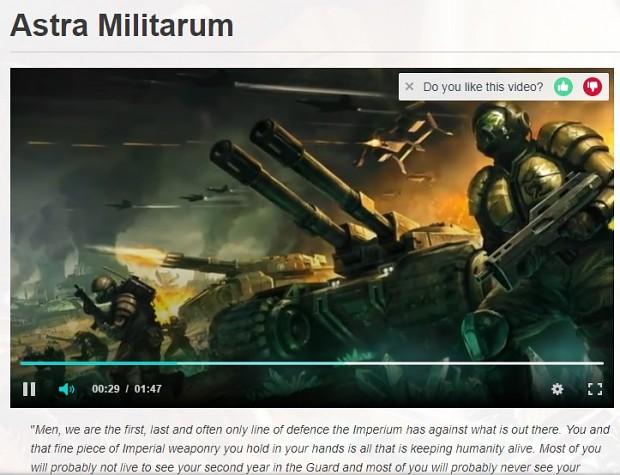 Tiberium Wars art was accidentally used in W40k wiki.