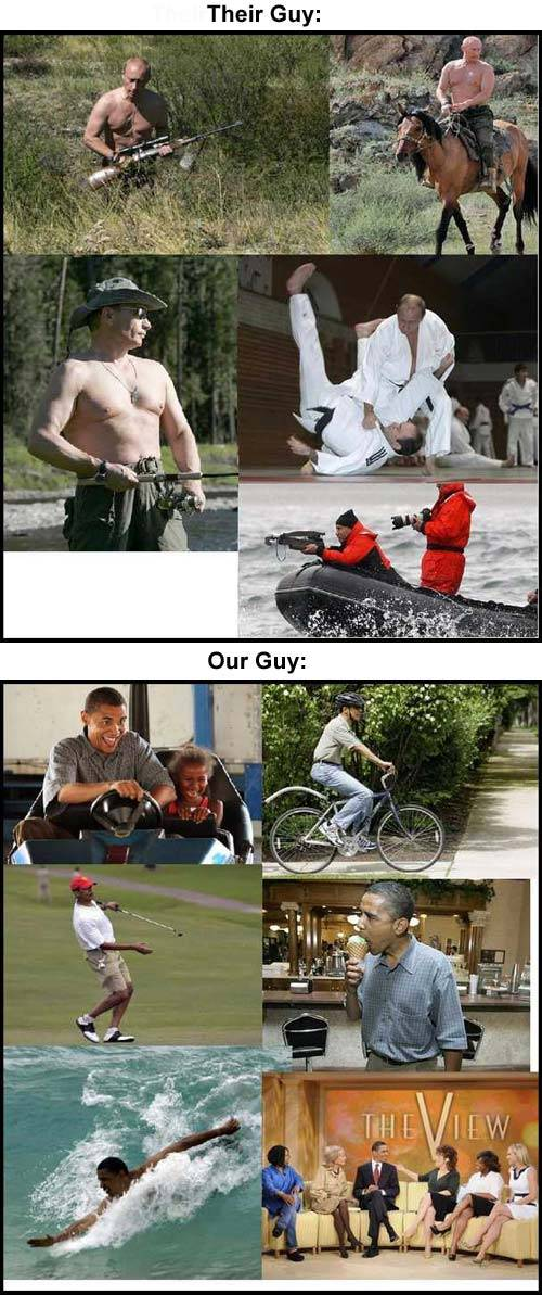 Putin Vs. Obama.