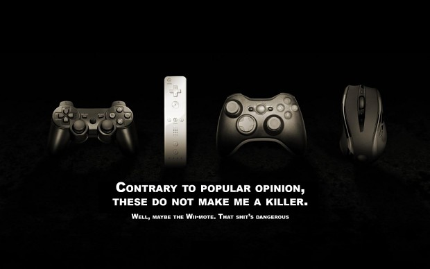 Video Games Do Not Make Me A Killer