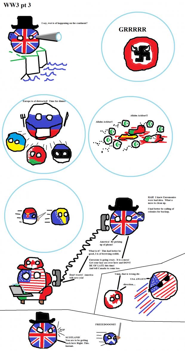 Ww3 Country Balls Image Humor Satire Parody Mod Db