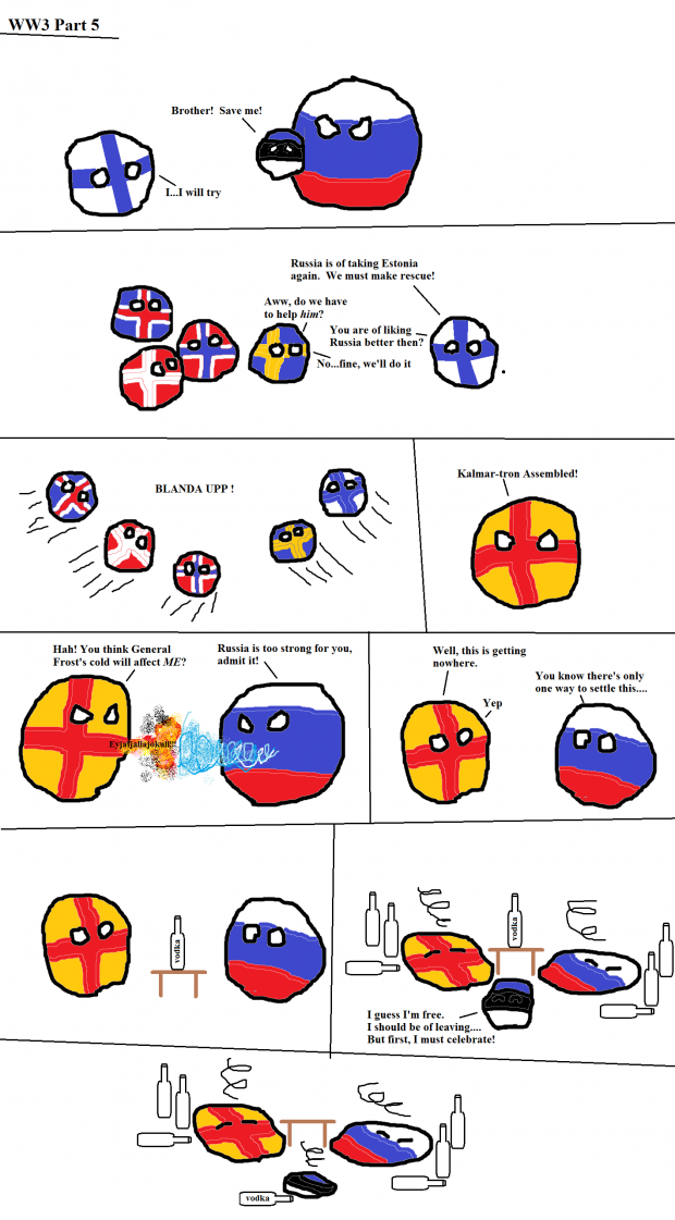 WW3 Country balls.